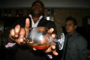 Colin Asare-Appiah, Brand Ambassador, U'Luvka Vodka.