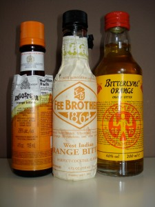 No bar is complete without orange bitters.