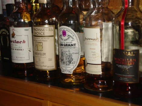 Just over half of the bottles sampled Tuesday night.