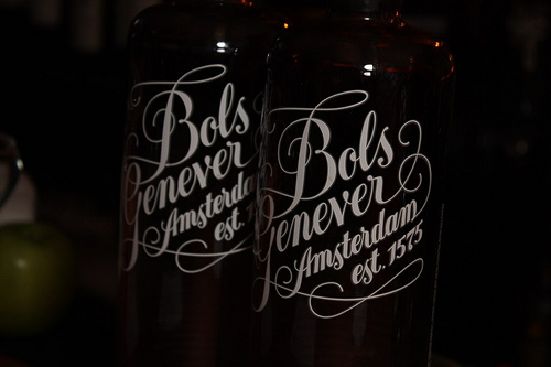 Bols Genever, Dutch grain spirit. All photos by Leo Borovskiy of Lush Life Productions.