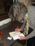 "Gary ""Gaz"" Regan signing my book!"