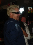Guy Fieri in his platinum glory
