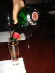 Zwack, a Hungarian amaro-like digestif, the perfect follow-up to pasta