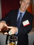 Michael McClosky pours Michael Collins