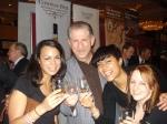 Me, Robin Robinson, Carmen Carroll & Meaghan Dorman