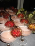 """Amarula & Eves"" (Amarula, citrus vodka, lychee juice, and ruby red grapegruit juice.)"