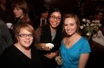 Francine Cohen, Elba Giron, and Kathleen Reynolds.
