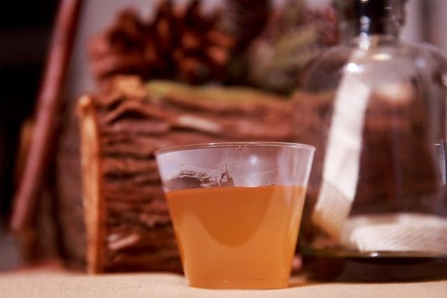 Hot Buttered Rogen's Rum.