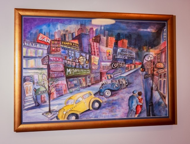 Dream Street by Jill DeGroff. (sold)