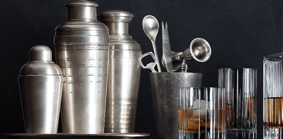 Restoration Hardware bar collection